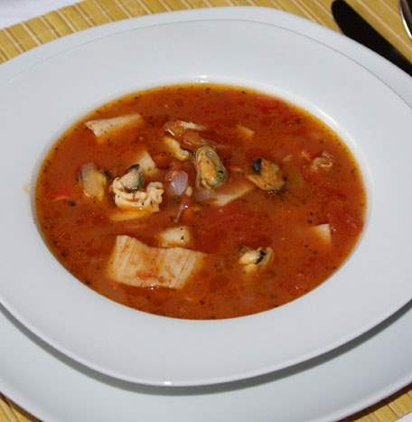 Средиземноморский  суп.Древний рецепт