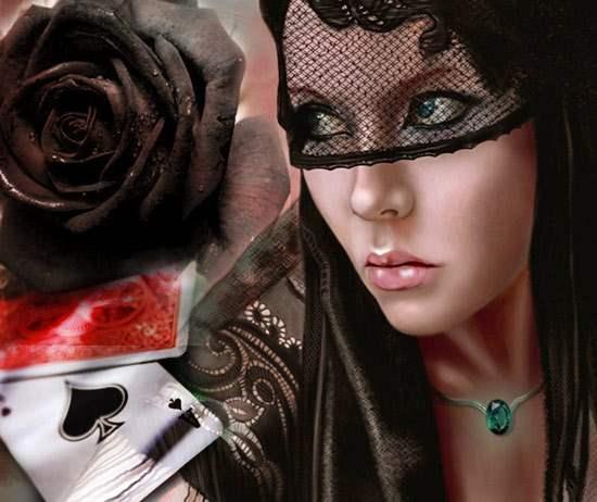 """Гадание на картах """"Черная роза"""""""