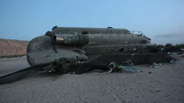 Вертолет НАТО сбит на востоке Афганистана, погибли два человека