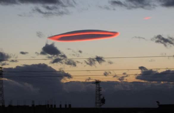 нло облака