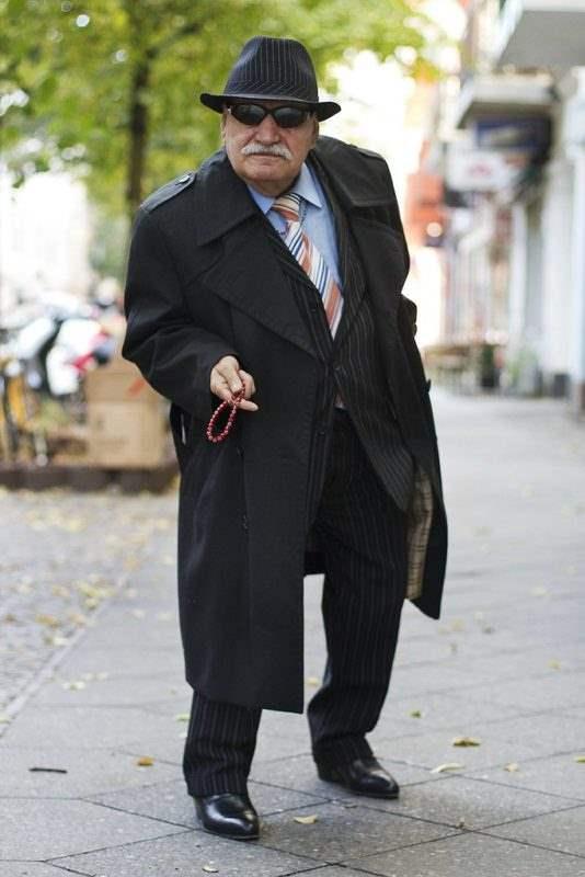 Каждый день новый лук. Харизматичный житель Берлина, фото