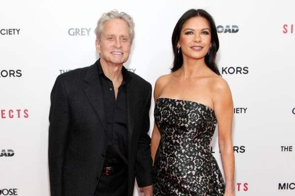 Michael Douglas and Catherine Zeta-Jones -1721292