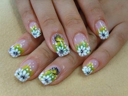 цветочный маникюр2