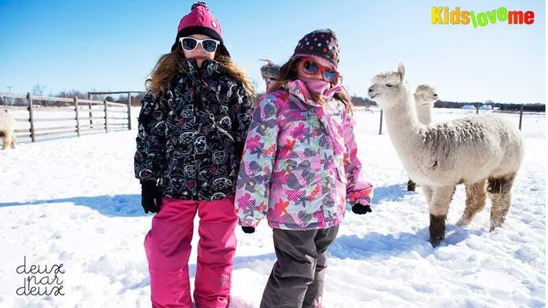 DEUX PAR DEUX – лучшие зимние комбинезоны для ваших детей.