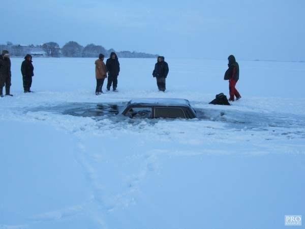 нива провалилась под лед2
