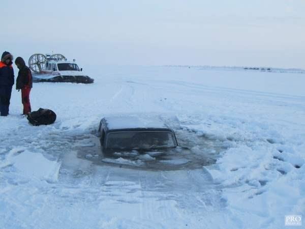нива провалилась под лед4