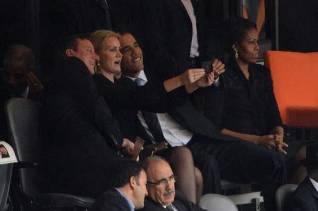 Обама и дэвид кэмерон веселились на