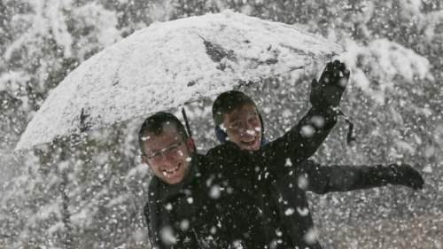 снег иерусалим декабрь15