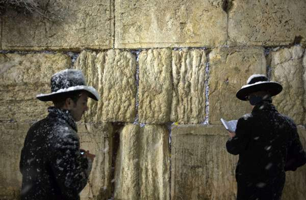 снег иерусалим декабрь2