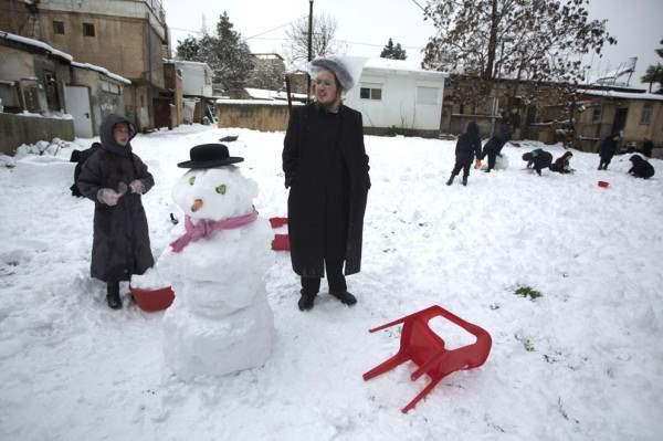 снег иерусалим декабрь3