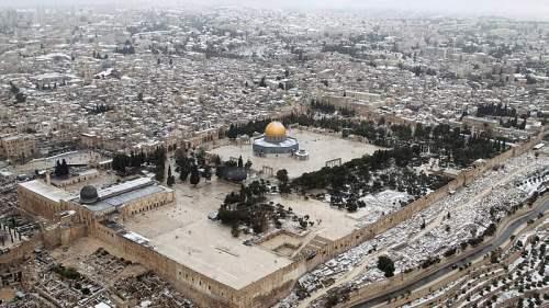 снег иерусалим декабрь5