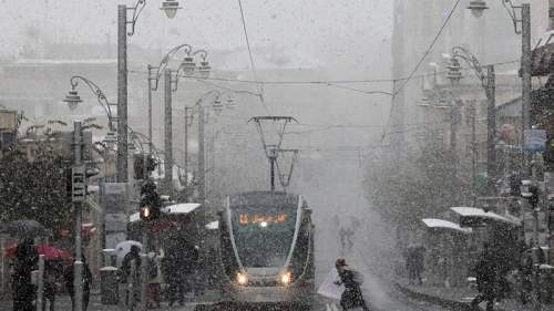 снег иерусалим декабрь6
