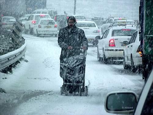 снег иерусалим декабрь7