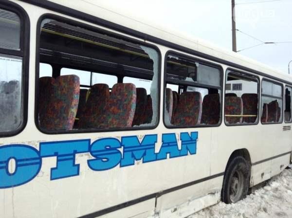 Автобус днепропетровск чуть не упал с моста5