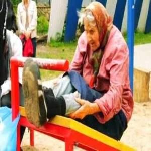 72-х летняя бабушка из Калининграда занимается воркаутом.