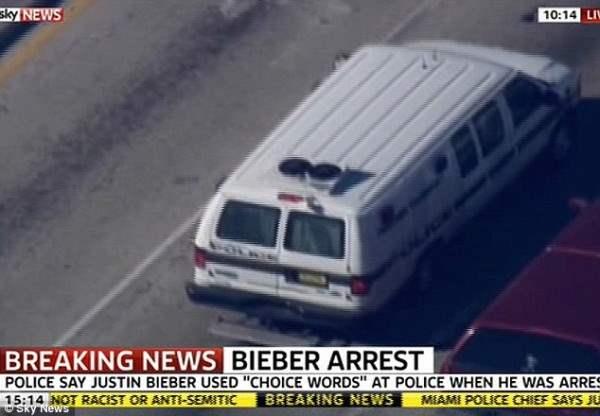 бибер арест12