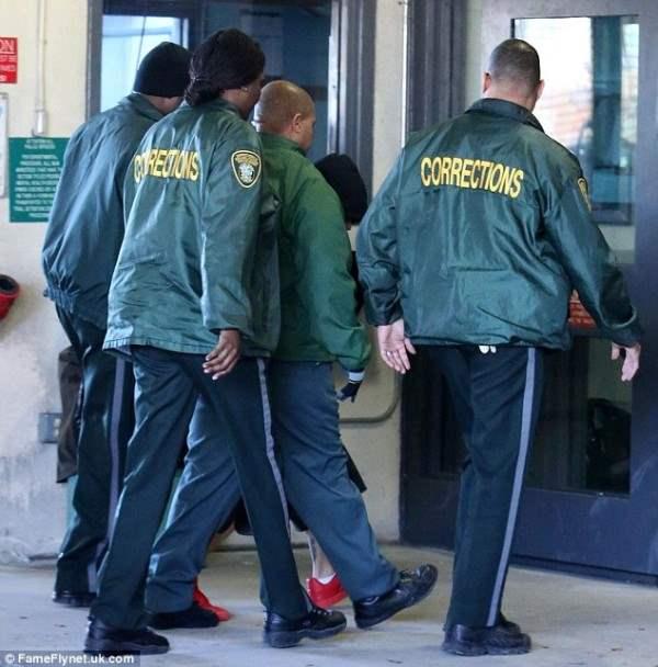 бибер арест19