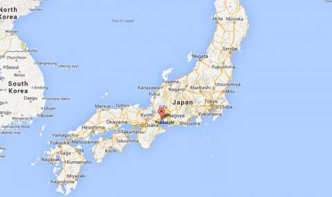 взрыв япония