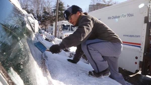 морозы в сша 2014 11