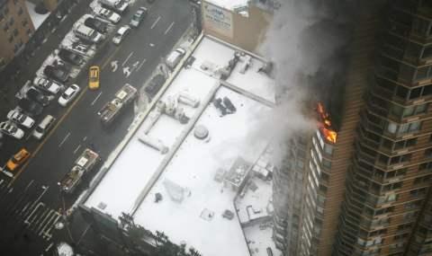пожар нью-йорк манхэттен