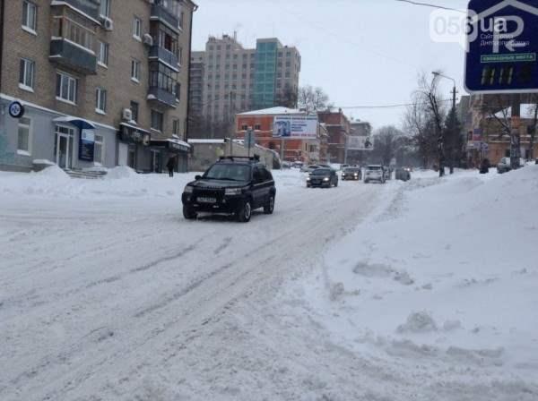снег в днепропетровске 28 января 2014.18