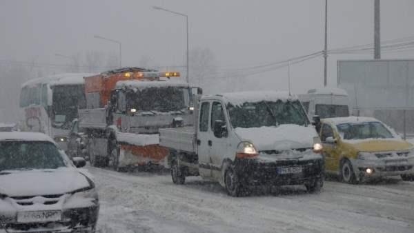 снег в румынии2
