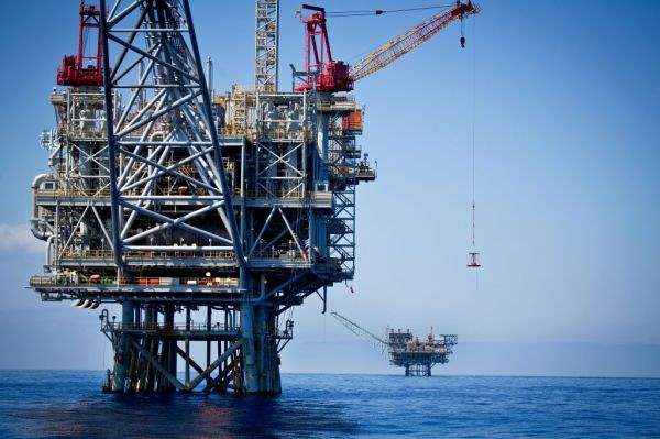 Газовое месторождение Тамар у побережья Израиля