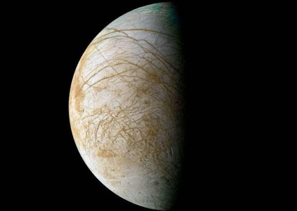 Европа спутник Юпитера2