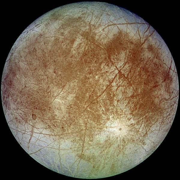Европа спутник Юпитера3