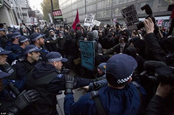 великобритания протесты19