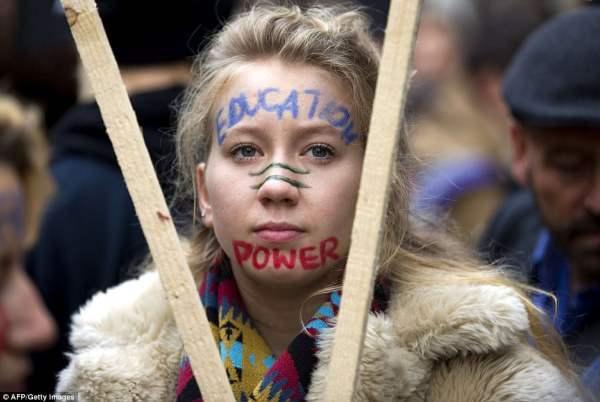 великобритания протесты20