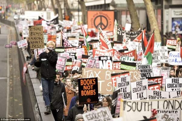 великобритания протесты21