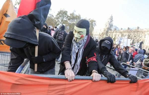 великобритания протесты44