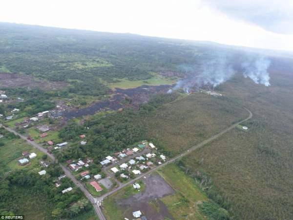 лава Гавайи6