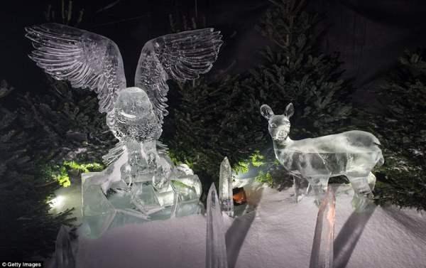 ледовые скульптуры