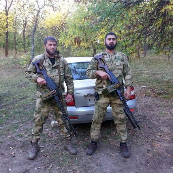 чеченцы донбасс
