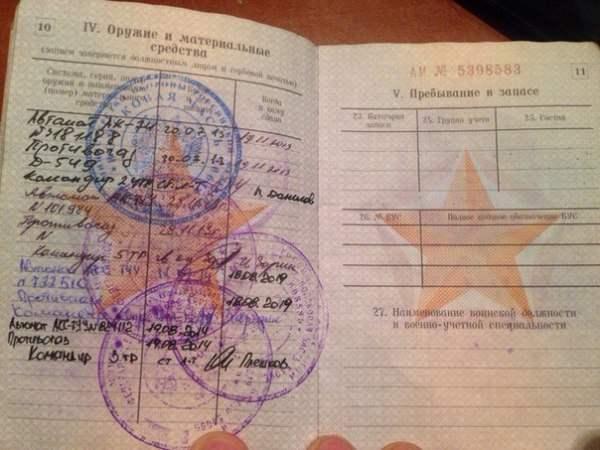 документы солдатов рф7