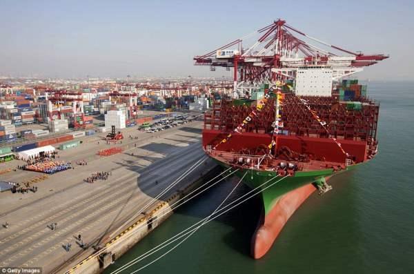 Это один из пяти кораблей, которые будут построены.