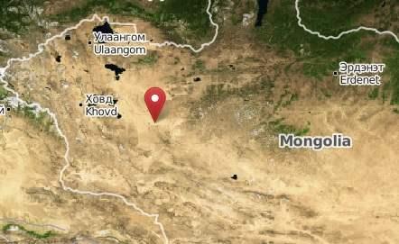В Монголии произошло землетрясение 7.0 балла.