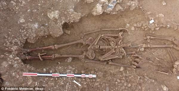 скелеты гладиаторов