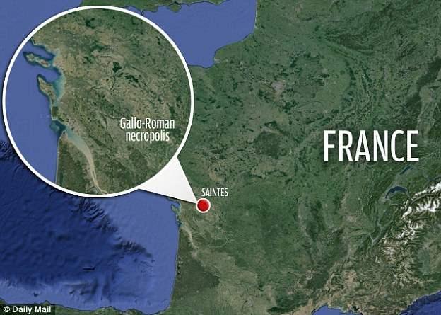 В юго западной франции найдено