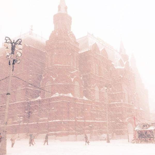 снег москва декабрь 2014 10