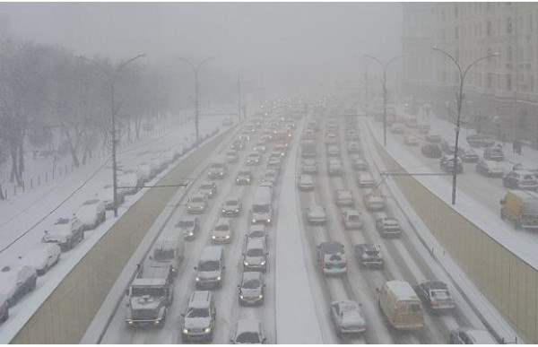 снег москва декабрь 2014 3