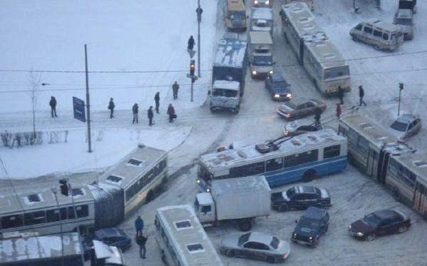 снег москва декабрь 2014 9