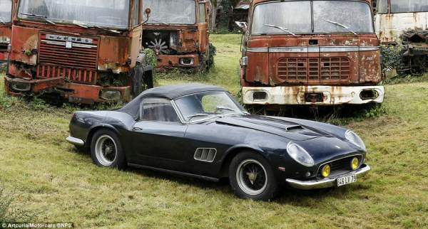 Ferrari 250 GT SWB. Почти как новенький.