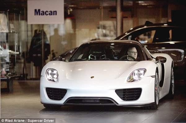 Porsche 918 Spyder, который был выпущен ограниченным тиражом.