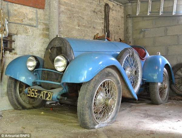 Bugatti Breshia 1925 года. Всего 12 автомобилей этой модели остались в мире.