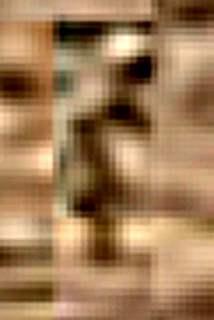 Силуэт гуманоида на Марсе (фото)