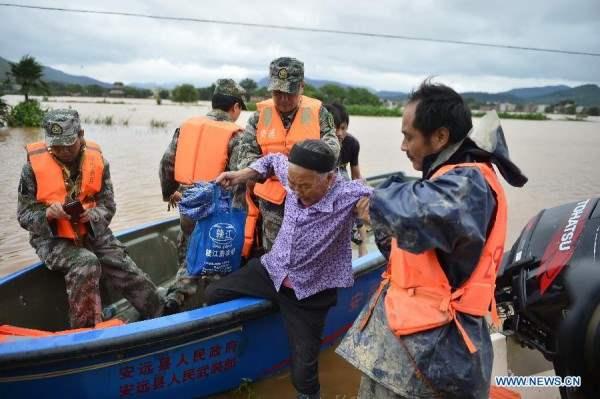 китай наводнение3