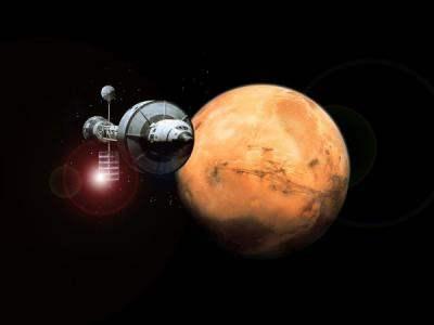 """Ученые готовятся """"выращивать"""" кислород на Марсе."""